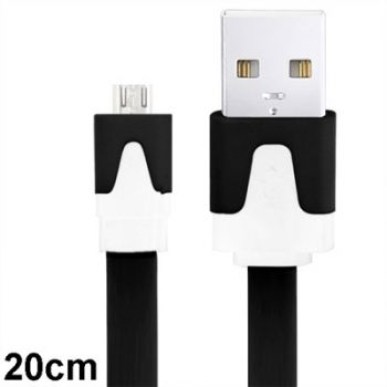Cable Micro USB a USB colores Samsung / HTC / LG / Sony / Nokia 20cm