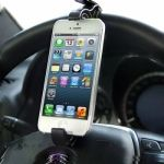 Soporte universal para coche para iPhone 5 / iPhone 4 / Samsung / HTC / Sony / LG / Nokia