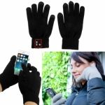 Guantes Bluetooth 3.0 soporta manos libres HTC / Samsung / iPhone4 / iPhone5 / LG / Huawei / Nokia / Sony